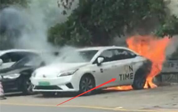 广汽新能源Aion S广州自燃 厂商正在调查