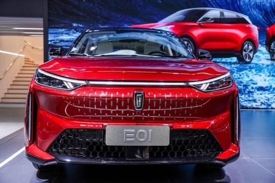 与时代共奔腾,E01北京车展首发演绎乘风破浪!
